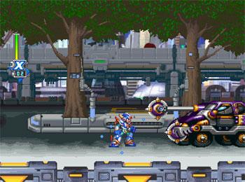 Pantallazo del juego online Mega Man X5 (PSX)