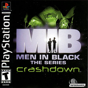 Portada de la descarga de Men in Black – The Series: Crashdown