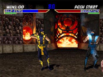 Pantallazo del juego online Mortal Kombat 4 (PSone)