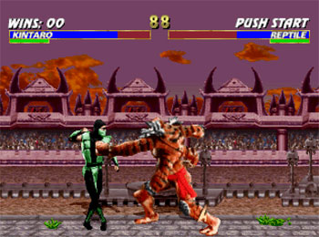 Imagen de la descarga de Mortal Kombat Trilogy