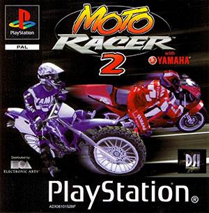 Portada de la descarga de Moto Racer 2