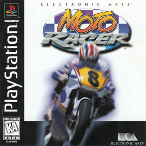 Carátula del juego Moto Racer (PSX)