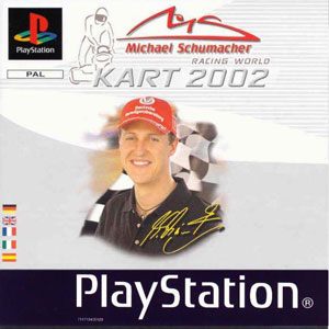 Juego online Michael Schumacher Racing World Kart 2002 (PSX)
