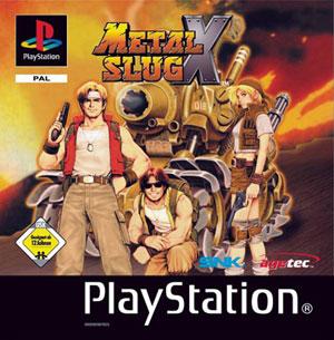 Portada de la descarga de Metal Slug X