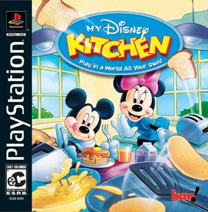Carátula del juego My Disney Kitchen (Psx)