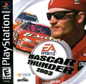 Portada de la descarga de NASCAR Thunder 2003