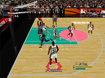 Imagen de la descarga de NBA In the Zone 2000