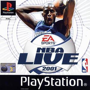 Juego online NBA Live 2001 (PSX)