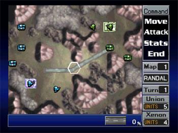 Imagen de la descarga de Nectaris: Military Madness