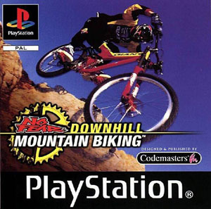 Portada de la descarga de No Fear Downhill Mountain Bike Racing