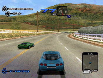 Pantallazo del juego online Need for Speed III Hot Pursuit (PSX)