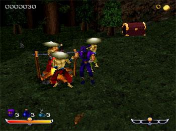 Pantallazo del juego online NINJA Shadow of Darkness (PSX)