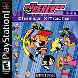 Juego online The Powerpuff Girls: Chemical X-traction (PSX)