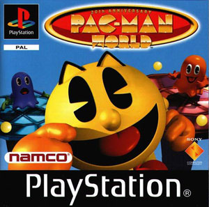 Portada de la descarga de Pac-Man World 20th Anniversary
