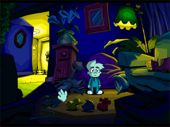 Imagen de la descarga de Pajama Sam: You are What you Eat from Your Head to Your Feet