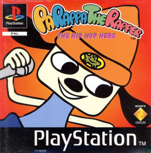 Portada de la descarga de PaRappa the Rapper