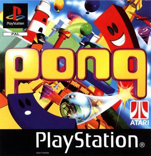 Carátula del juego Pong (PSX)