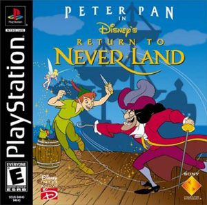 Portada de la descarga de Peter Pan in Return to Neverland