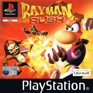 Portada de la descarga de Rayman Rush