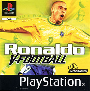 Portada de la descarga de Ronaldo V-Football