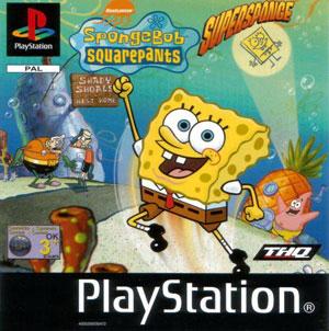 Portada de la descarga de SpongeBob SquarePants: SuperSponge
