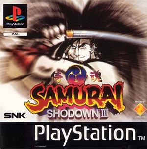 Portada de la descarga de Samurai Shodown III: Blades of Blood