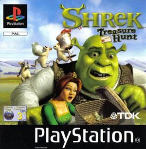 Portada de la descarga de Shrek: Treasure Hunt