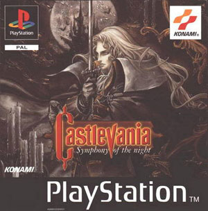 Carátula del juego Castlevania Symphony of the Night (Psx)