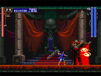 Pantallazo del juego online Castlevania Symphony of the Night (Psx)