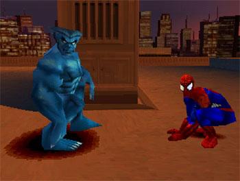 Pantallazo del juego online Spider-Man 2 -- Enter Electro (PSX)