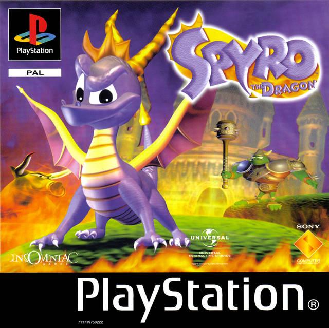 Portada de la descarga de Spyro the Dragon