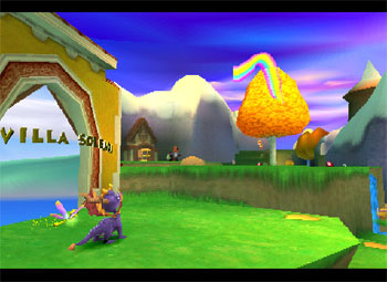 Imagen de la descarga de Spyro: Year of the Dragon