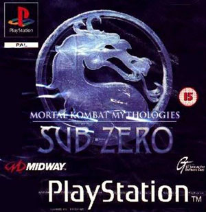 Carátula del juego Mortal Kombat Mythologies Sub-Zero (PSX)