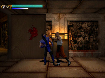 Pantallazo del juego online Mortal Kombat Mythologies Sub-Zero (PSX)