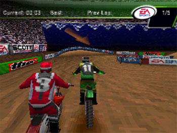 Imagen de la descarga de Supercross 2000