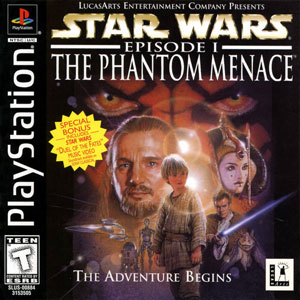 Portada de la descarga de Star Wars: Episode I: The Phantom Menace