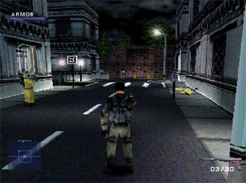 Pantallazo del juego online Syphon Filter (PSX)
