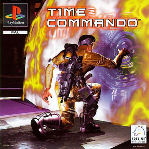 Portada de la descarga de Time Commando
