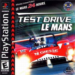 Portada de la descarga de Test Drive Le Mans
