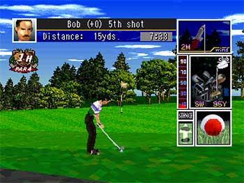 Imagen de la descarga de Tecmo World Golf