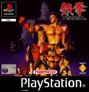 Carátula del juego Tekken (PSX)