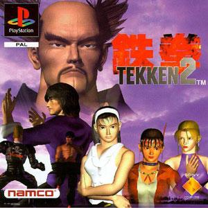 Carátula del juego Tekken 2 (PSX)