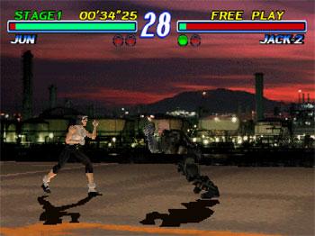 Pantallazo del juego online Tekken 2 (PSX)