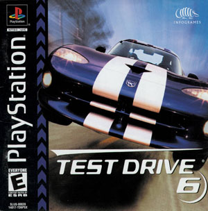 Portada de la descarga de Test Drive 6