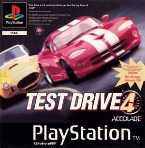 Portada de la descarga de Test Drive 4