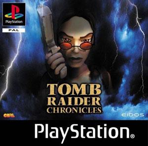 Carátula del juego Tomb Raider Chronicles (Psx)