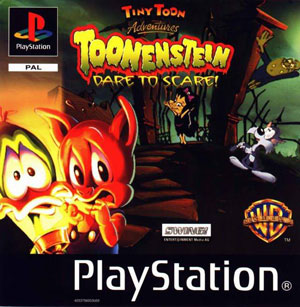 Portada de la descarga de Tiny Toon Adventures: Toonenstein – Dare To Scare