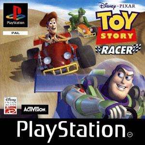 Carátula del juego Disney-Pixar's Toy Story Racer (PSX)
