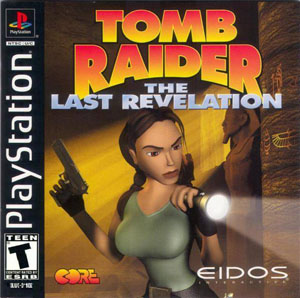 Carátula del juego Tomb Raider The Last Revelation (PSX)