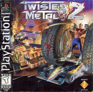 Portada de la descarga de Twisted Metal 2
